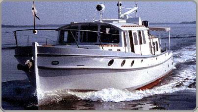 Custom Motor Yachts » Covey Island Boatworks